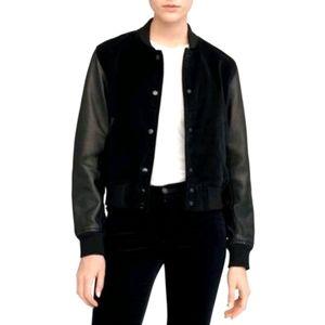 Rag & Bone Camden Velvet/Leather Jacket